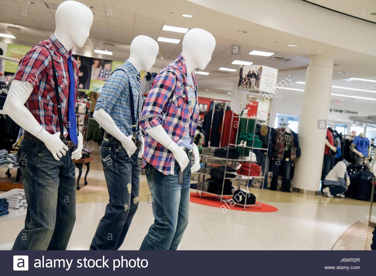 b63d140f2e64 Miami Florida Aventura Aventura Mall Macy's department store shopping  retail display for sale men's clothing fashion