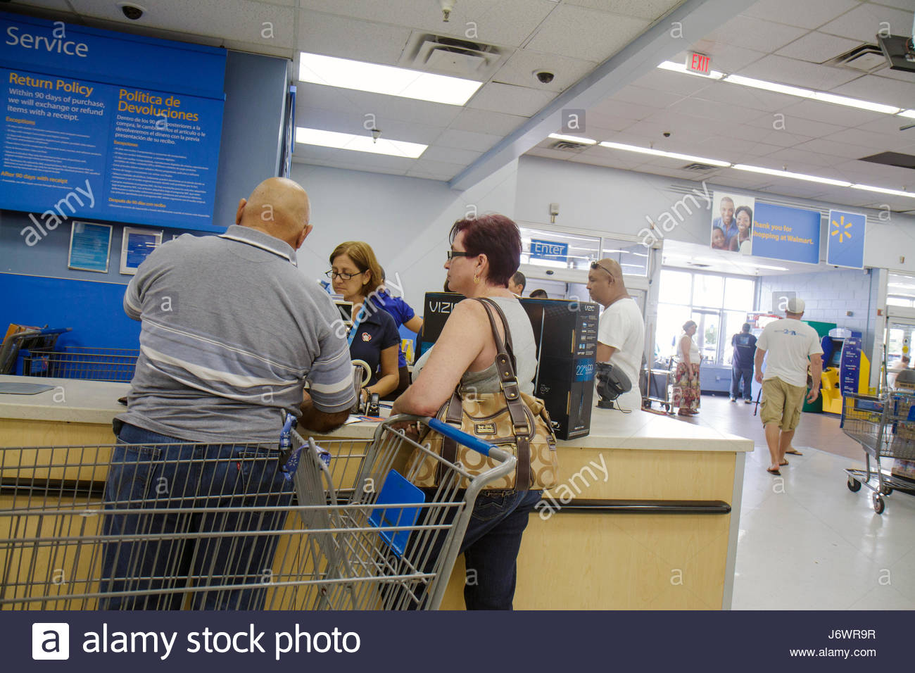 walmart customer service desk
