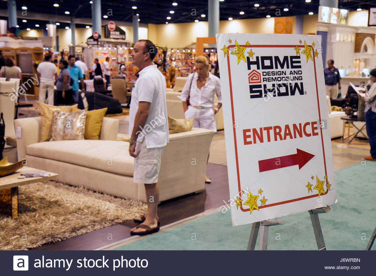 buyers and sellers stock photos buyers and sellers stock images miami beach miami florida beach convention center home design and remodeling show buyers sellers exhibitors