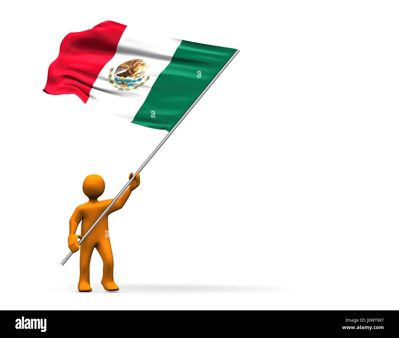 mexico flag football stock photos u0026 mexico flag football stock