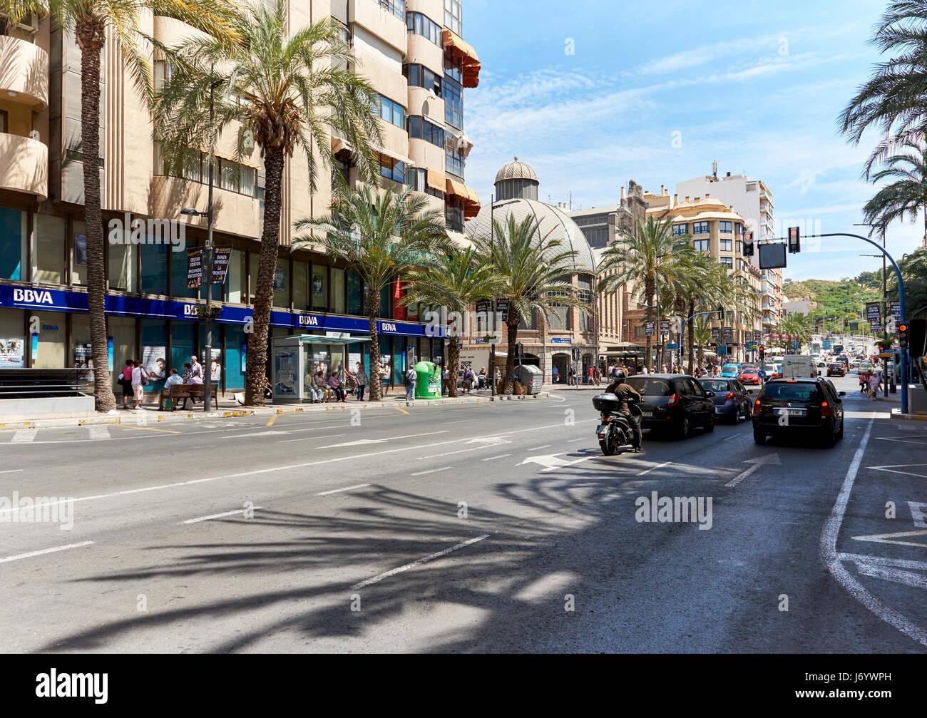 Alicante city centre stock photos alicante city centre stock images alamy - Stock uno alicante ...