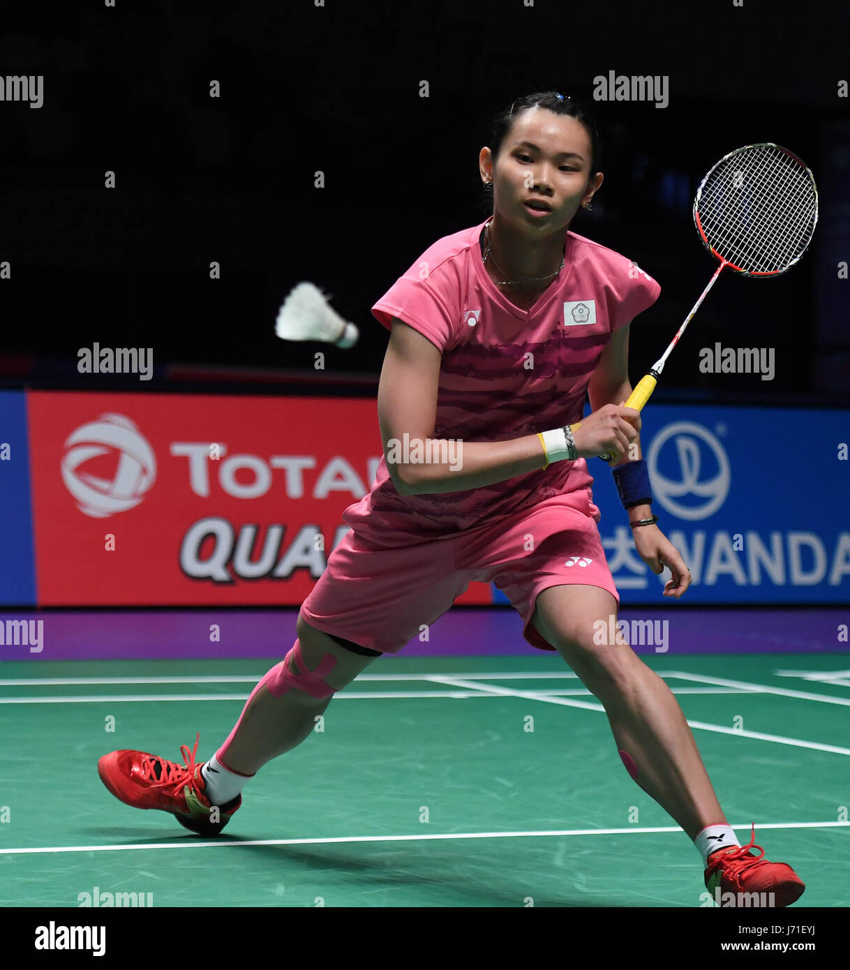 GOLD COAST May 22 2017 Xinhua Tai Tzu Ying of