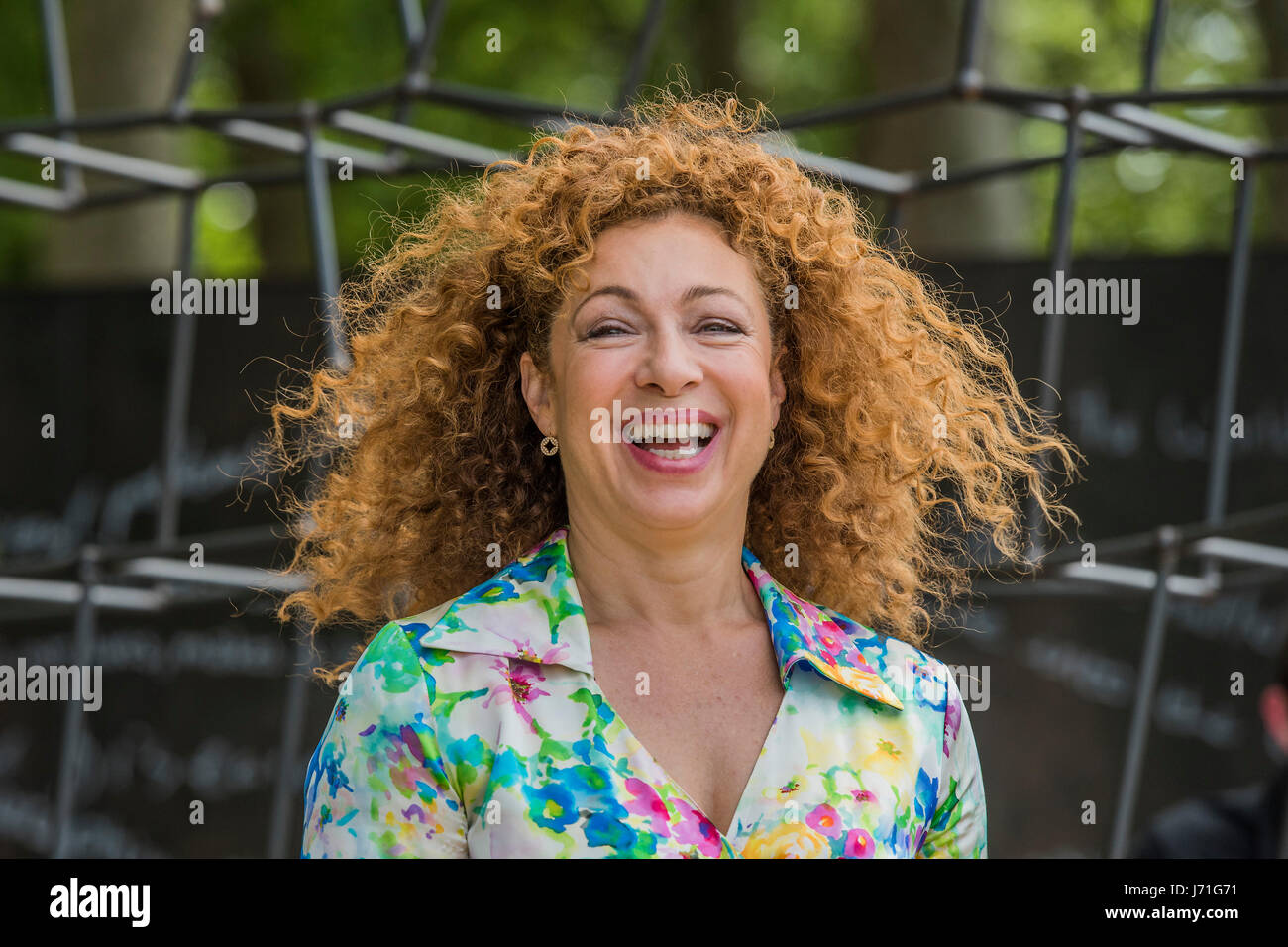 London, UK. 22nd May, 2017. Alex Kingston on the Breaking Ground ...