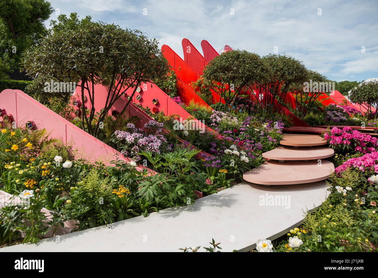 22nd May 2017 The Silk Road Garden