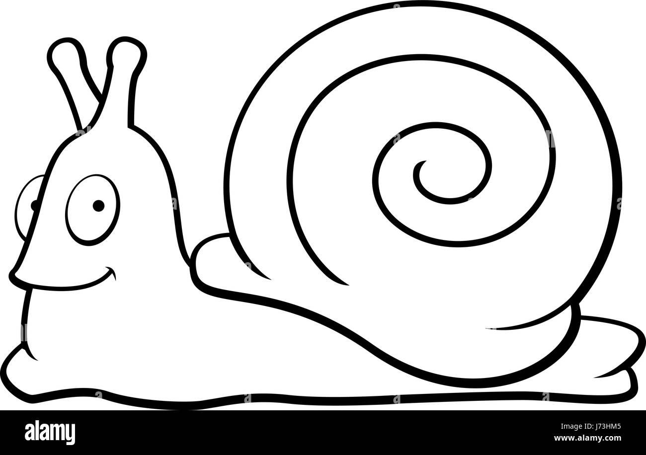 cartoon orange snail smiling happy stock photos u0026 cartoon orange