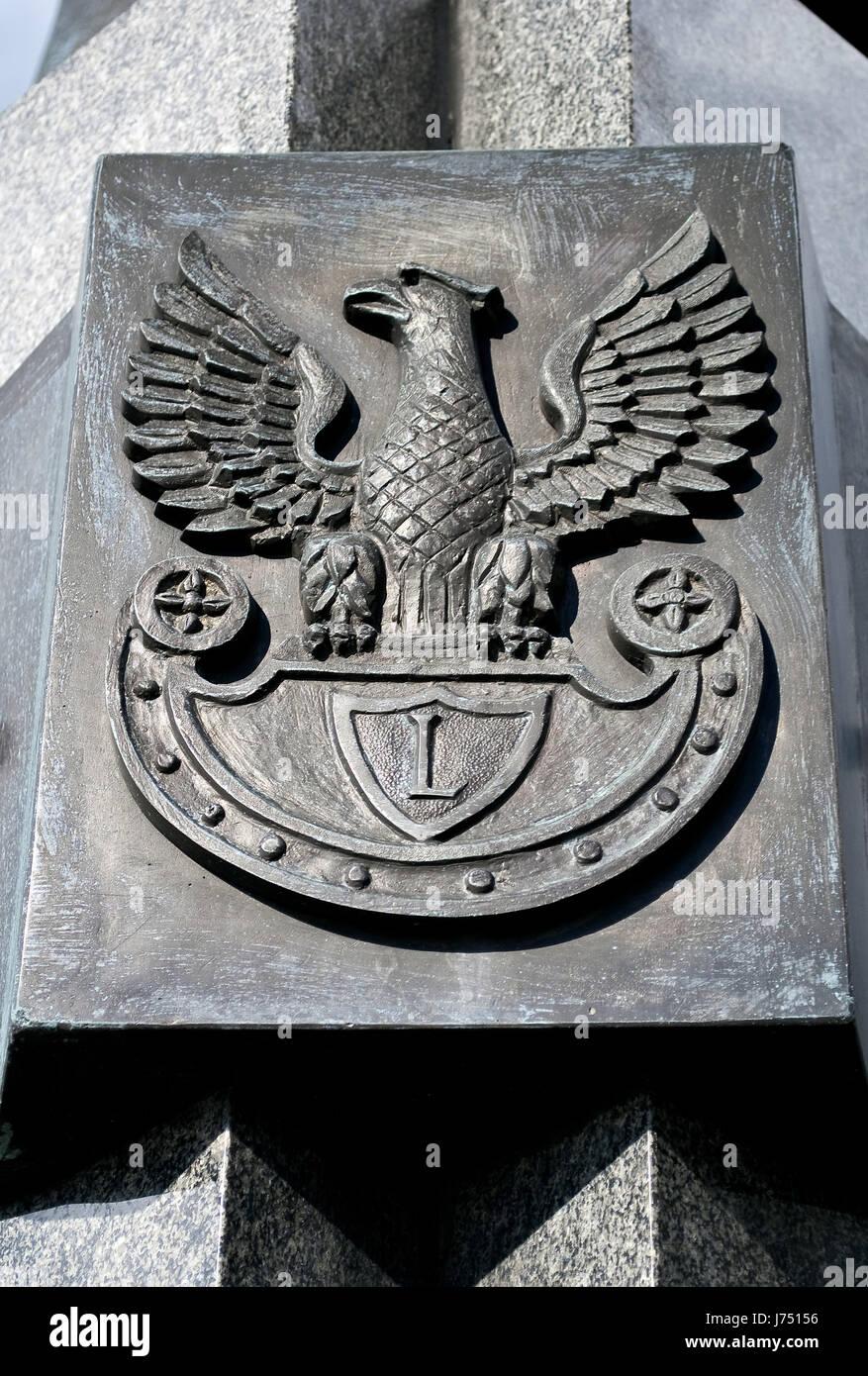 Emblem eagle poland warsaw national military polish polishing emblem eagle poland warsaw national military polish polishing pictogram symbol biocorpaavc