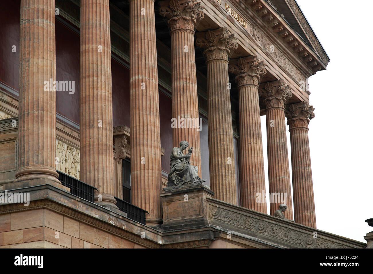 Modern Columns art anciently berlin museum painting art modern modernity columns