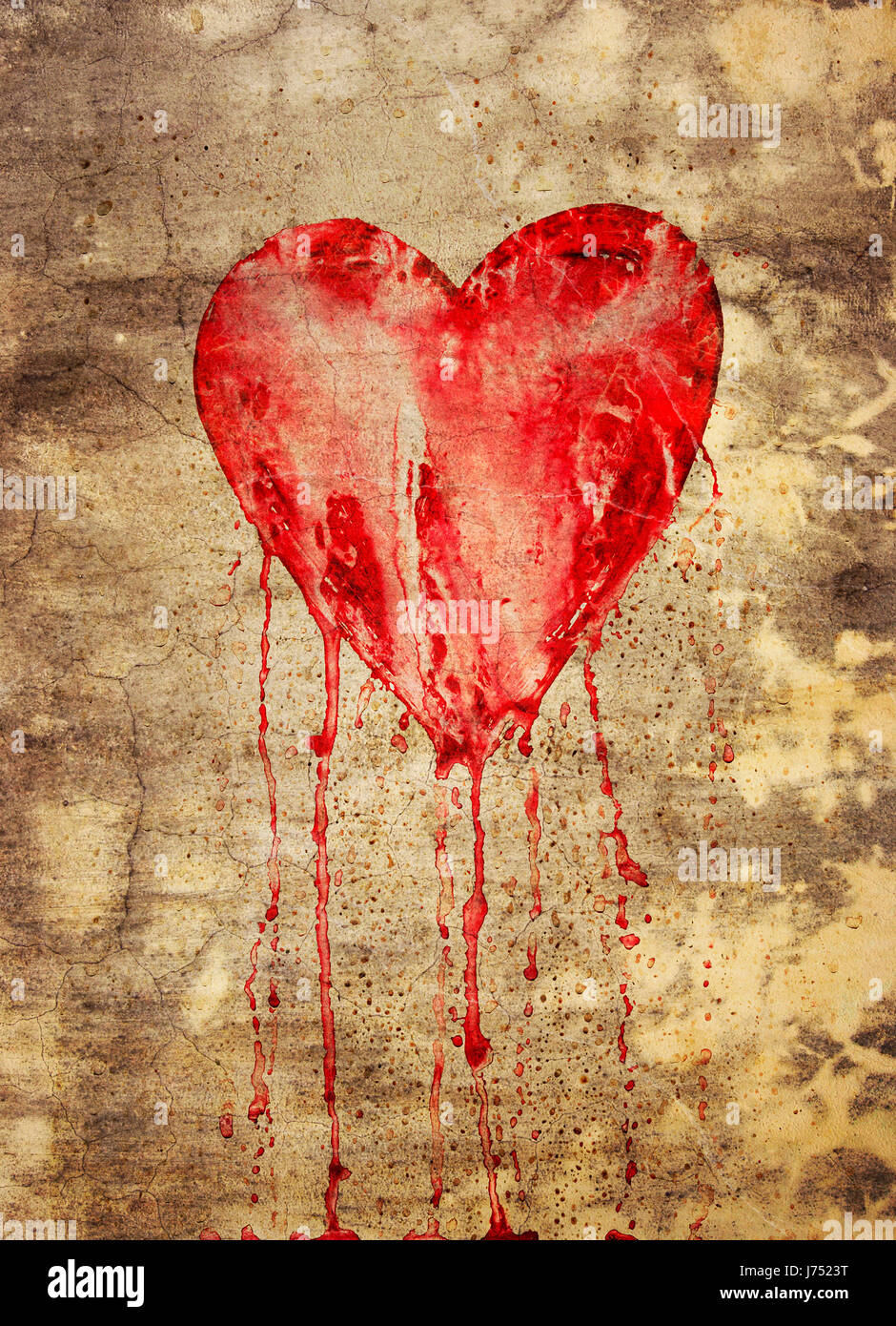 Broken love in love fell in love bleeding fresco heart pictogram broken love in love fell in love bleeding fresco heart pictogram symbol buycottarizona