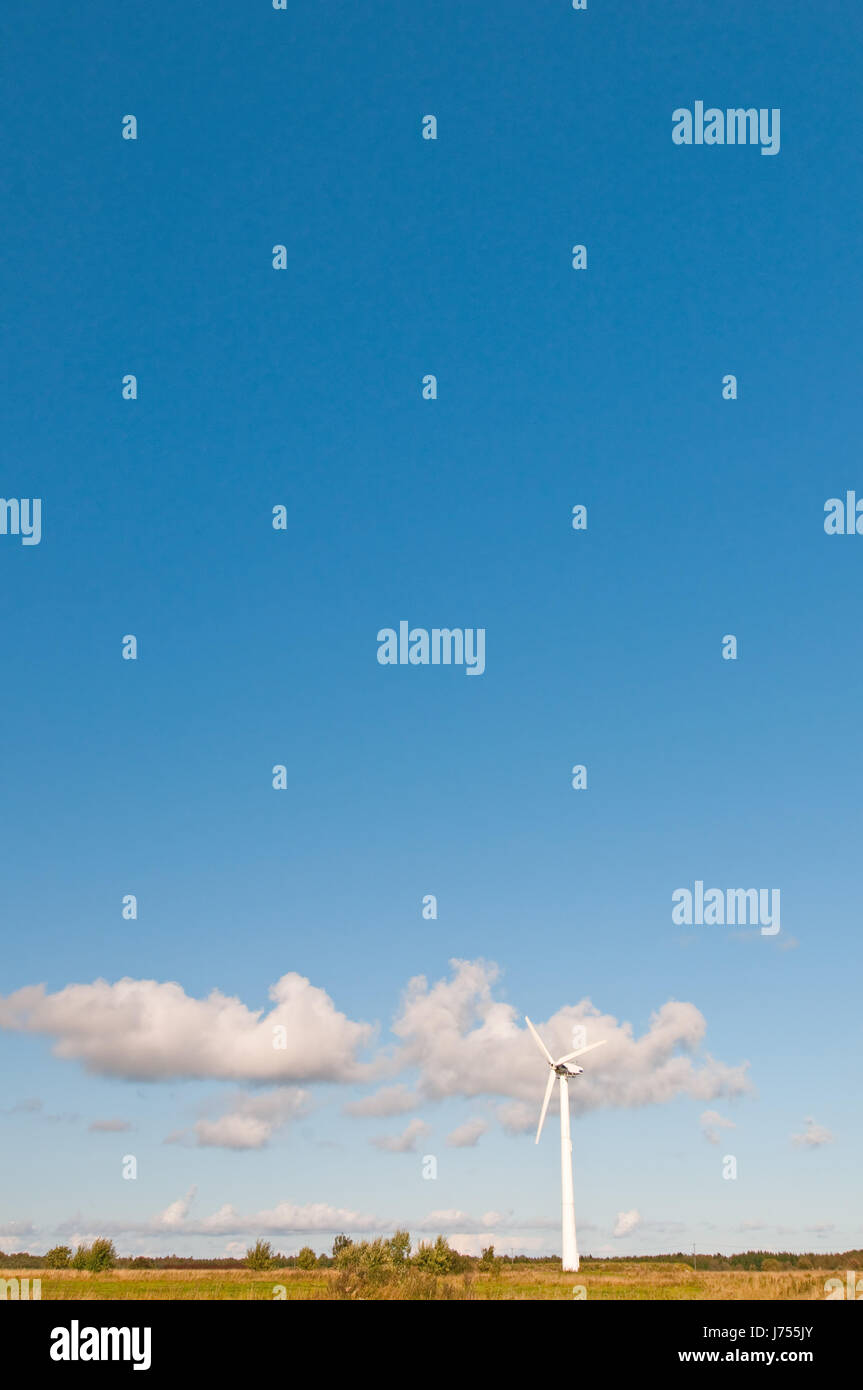 blue colour summer summerly windmill weather color firmament sky ...