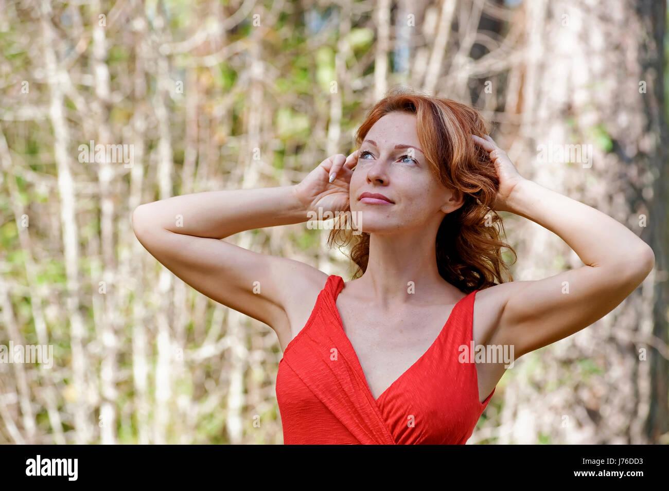Adult female mature photo