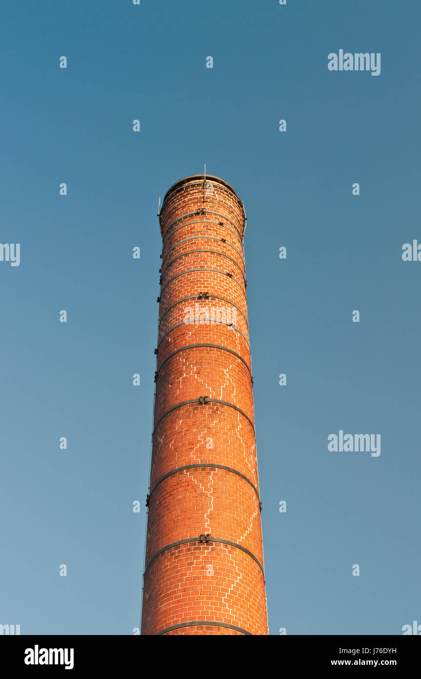 brick tube old chimney drainpipe chimney flue pipe tower industry