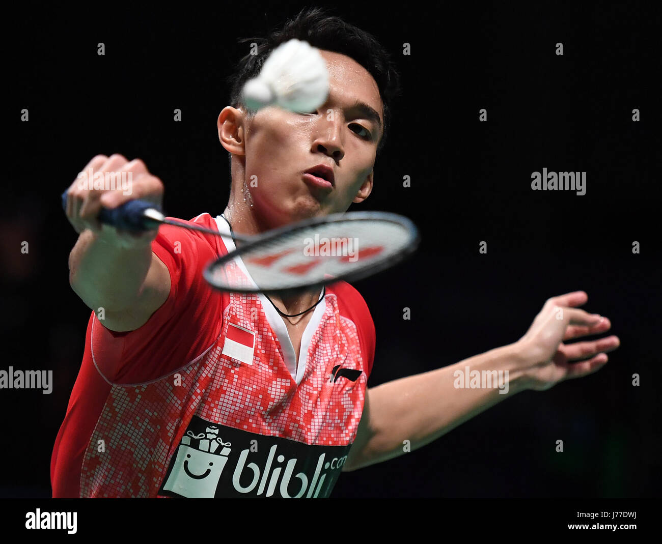 Gold Coast Australia 23rd May 2017 Jonatan Christie of