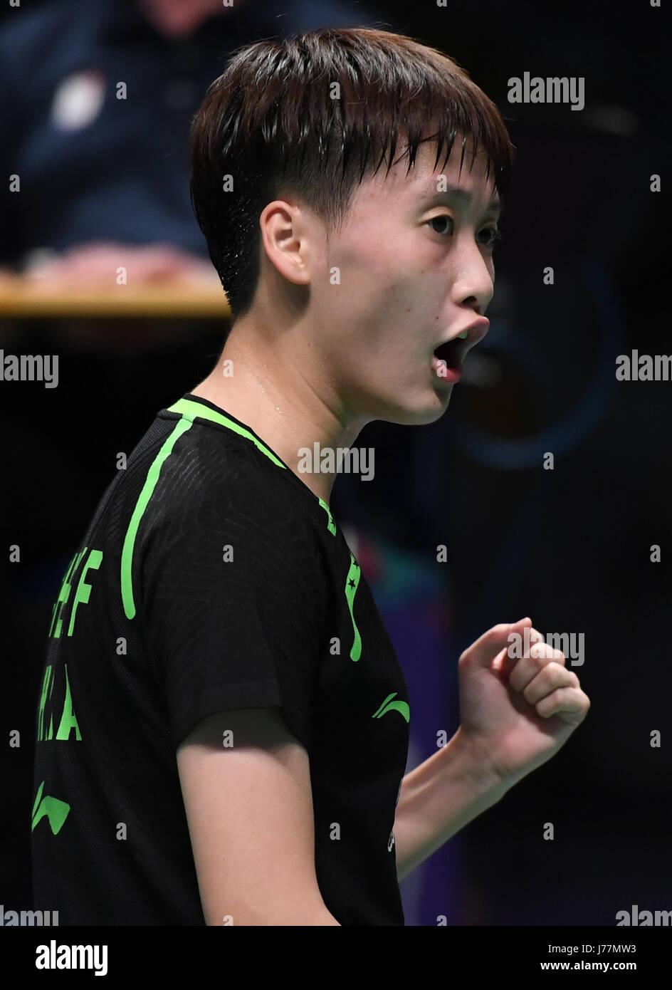 GOLD COAST May 24 2017 Xinhua China s Chen Yufei