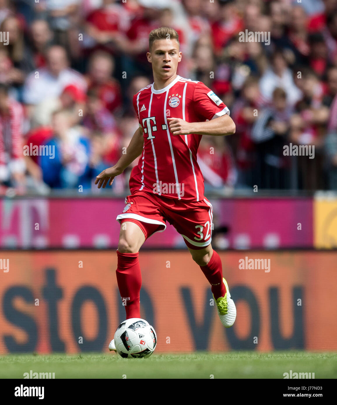 Munich s Joshua Kimmich in action during the German Bundesliga