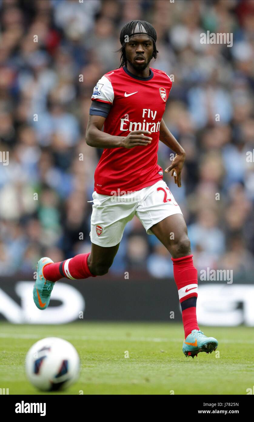 GERVINHO ARSENAL FC ETIHAD STADIUM MANCHESTER ENGLAND 23 September