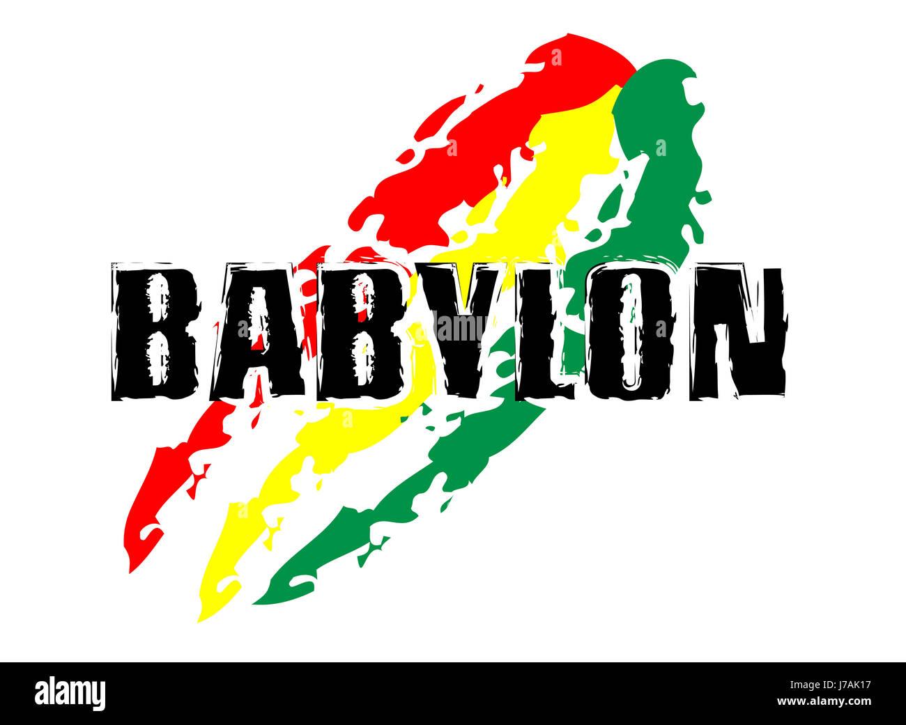 Rastafari sign stock photos rastafari sign stock images alamy rastafari concept babylon flag stock image biocorpaavc Image collections