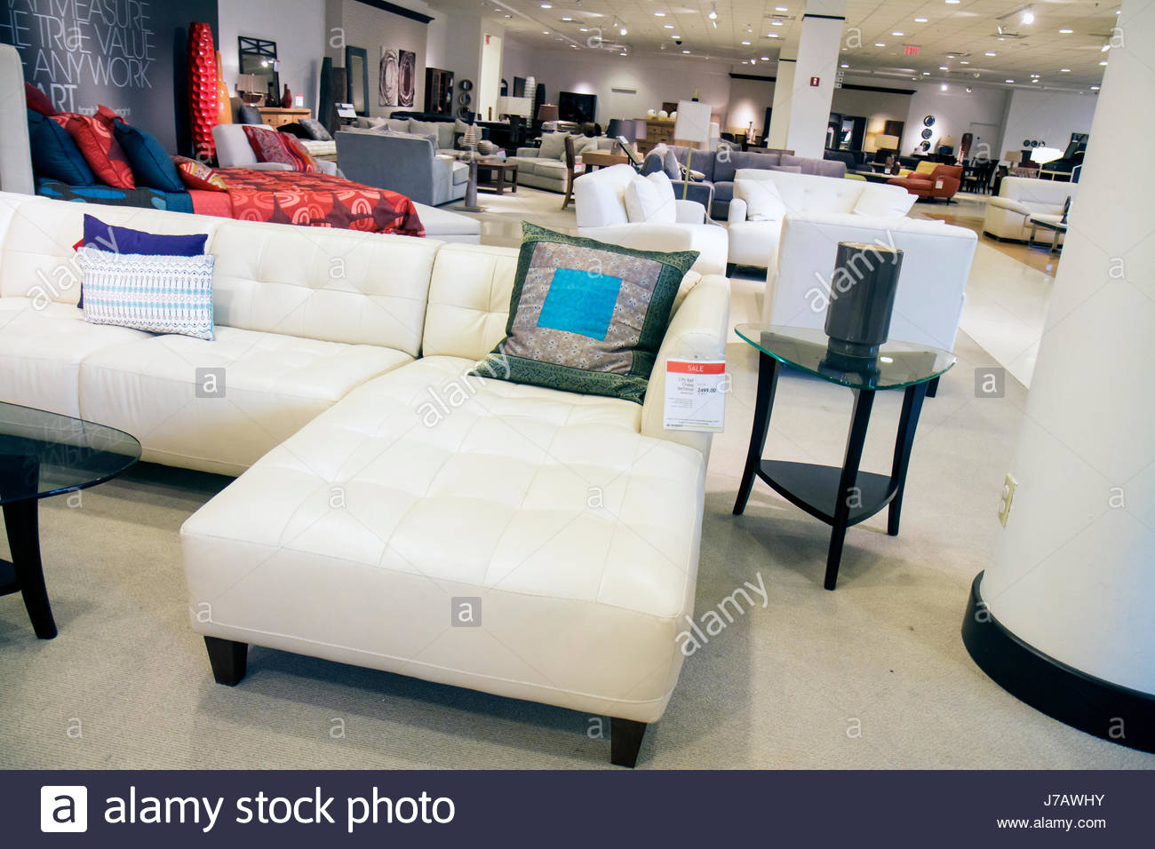 Miami Florida Aventura Macyu0027s Department Store Furniture Sofa Retail  Display For Sale Shopping
