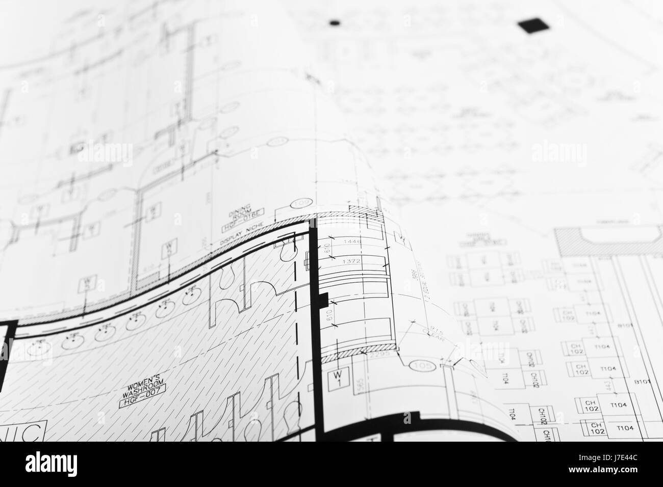 Architectural blueprint background stock photo royalty free image architectural blueprint background malvernweather Image collections