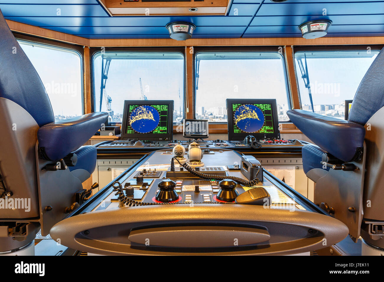 captains cabin on the ship stock photo royalty free
