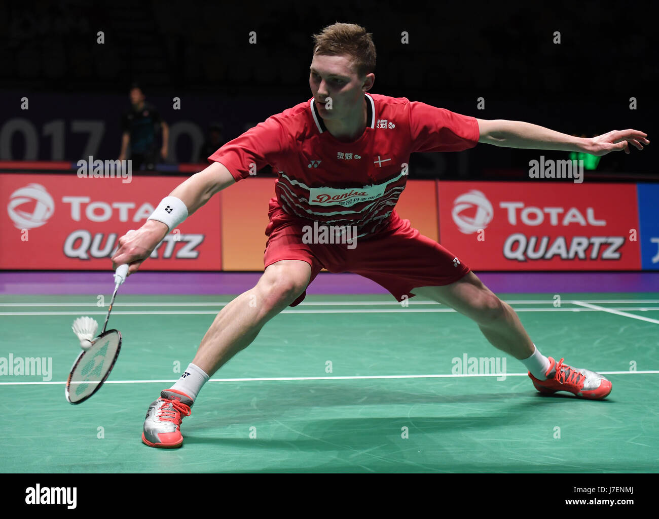 GOLD COAST May 24 2017 Xinhua Viktor Axelsen of