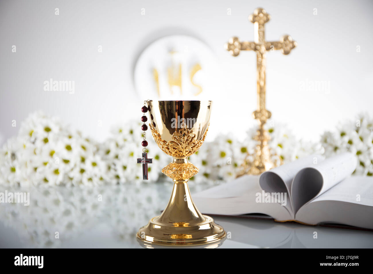The catholic religion proved by protestant bible mexico mexican first holy communion catholic religion theme crucifix bible catholic religion buycottarizona Image collections