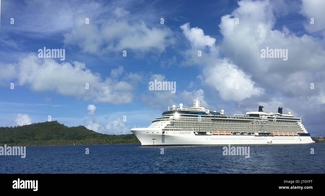 celebrity solstice ship in 2017 operated by the royal caribbean