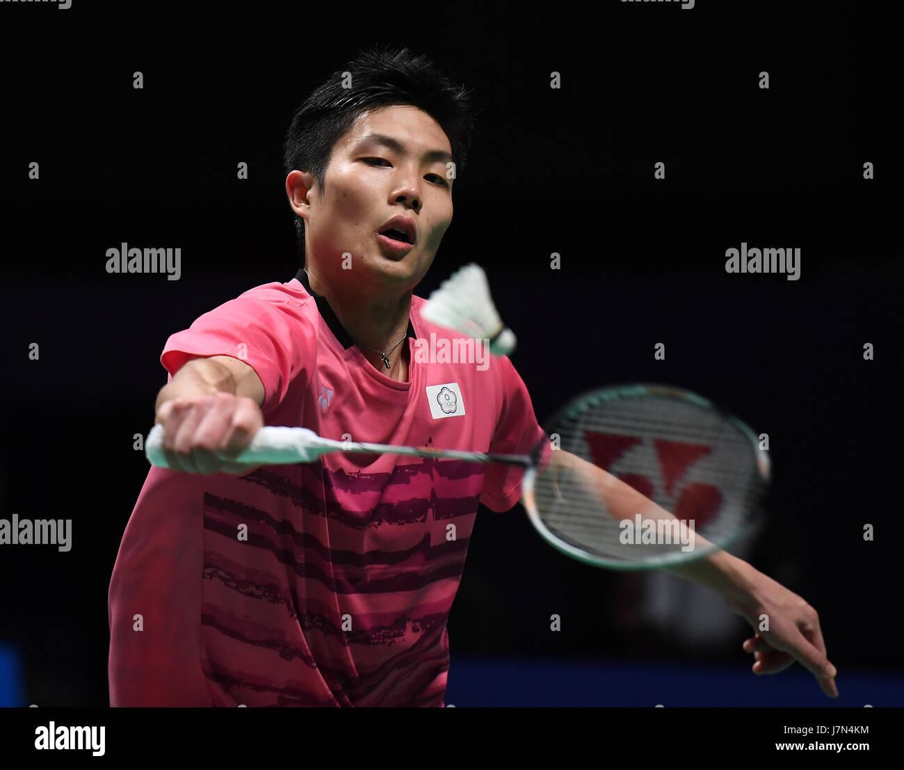GOLD COAST May 25 2017 Xinhua Chou Tien Chen of