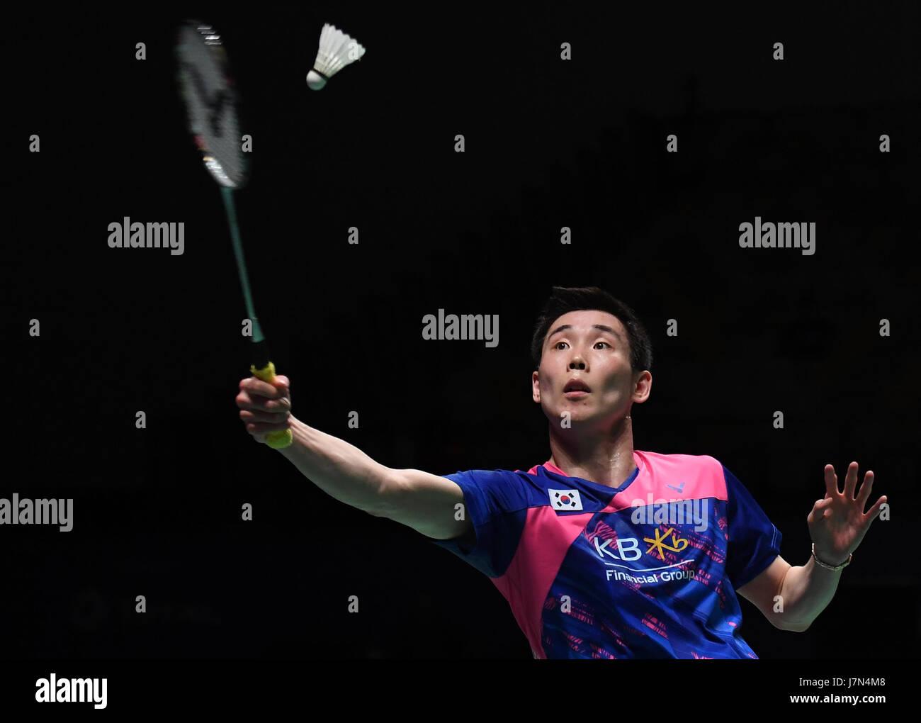 GOLD COAST May 25 2017 Xinhua Son Wan Ho of