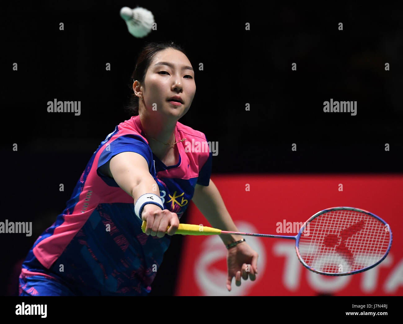 GOLD COAST May 25 2017 Xinhua Sung Ji Hyun of