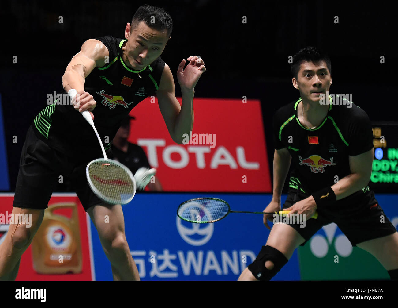Gold Coast Australia 26th May 2017 Fu Haifeng R and Zhang