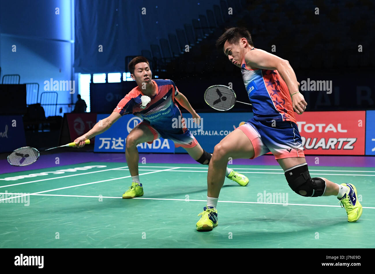 Gold Coast Australia 26th May 2017 Goh V Shem Tan Wee Kiong R