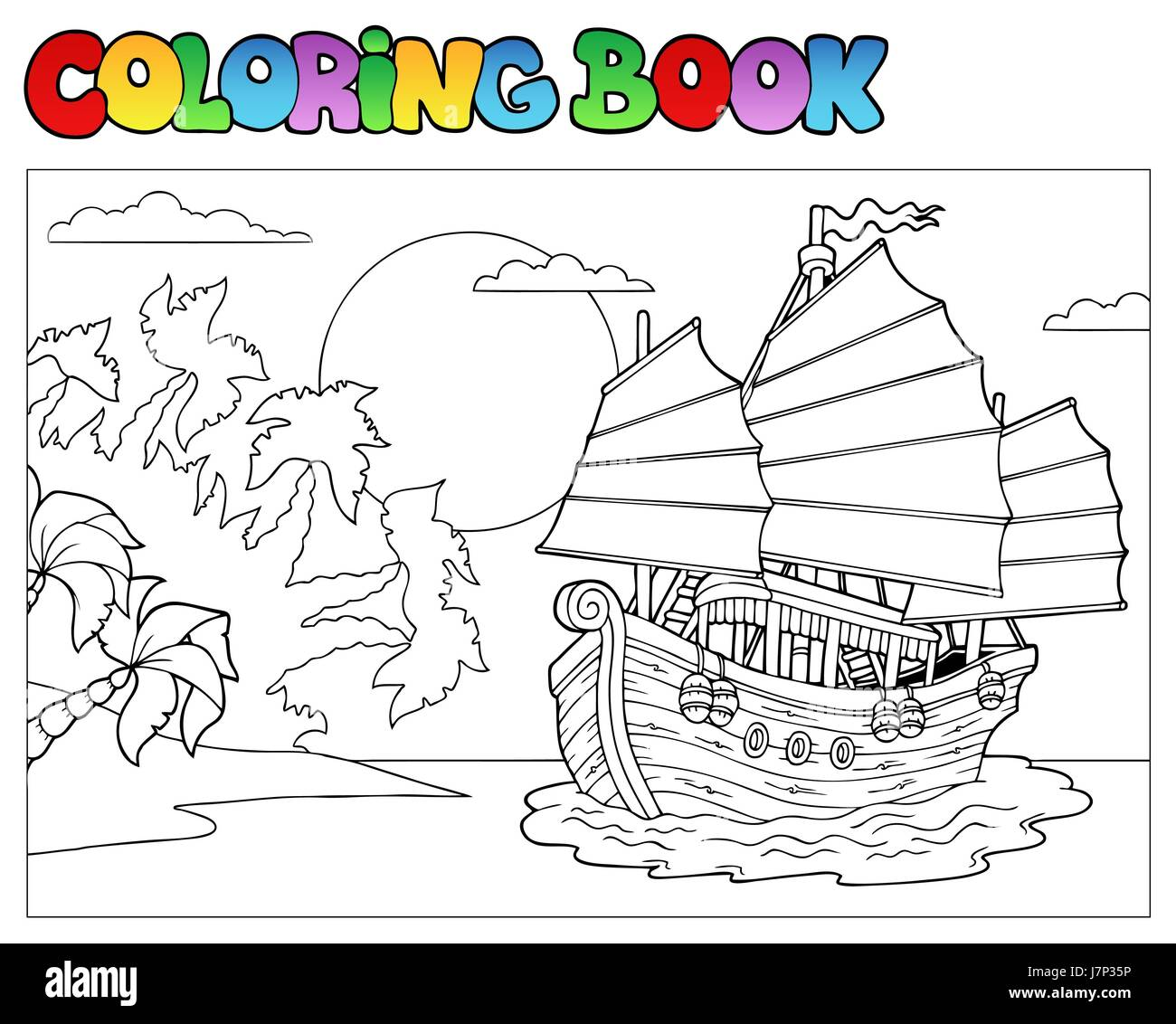 colour vessel paint boat painted ship colouring rowing boat sailing boat
