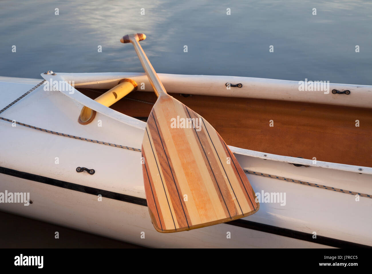 Sport Sports Wood Paddle Boat Deck Canoe Water Rowing Sailing