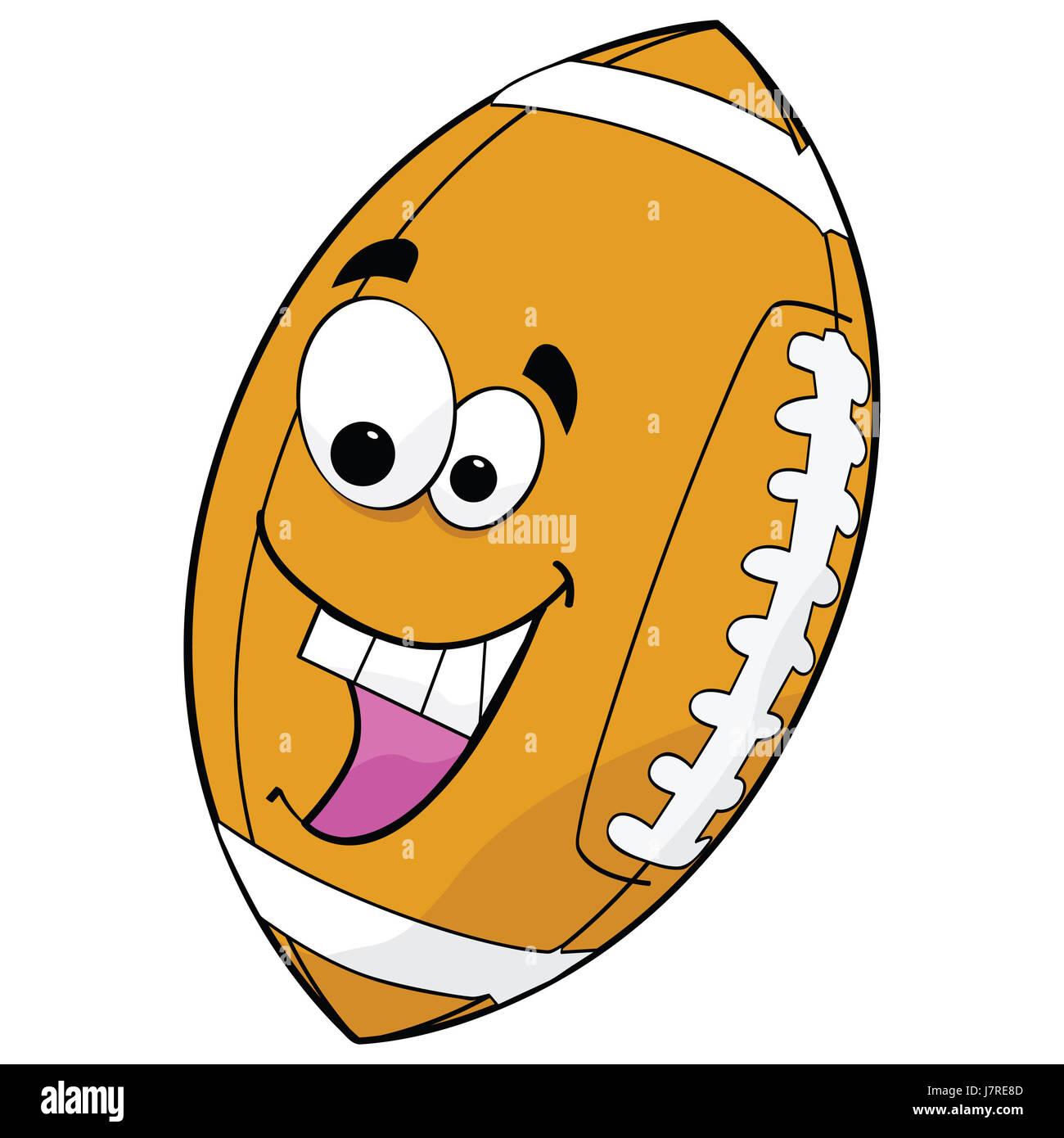 american ball usa cartoon sport sports soccer football laugh