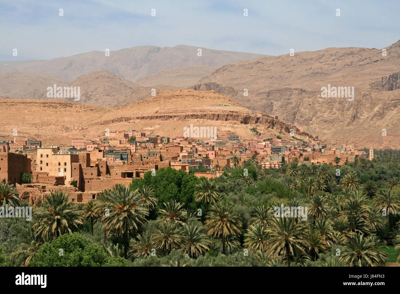 city town desert wasteland africa morocco clay atlas map of the