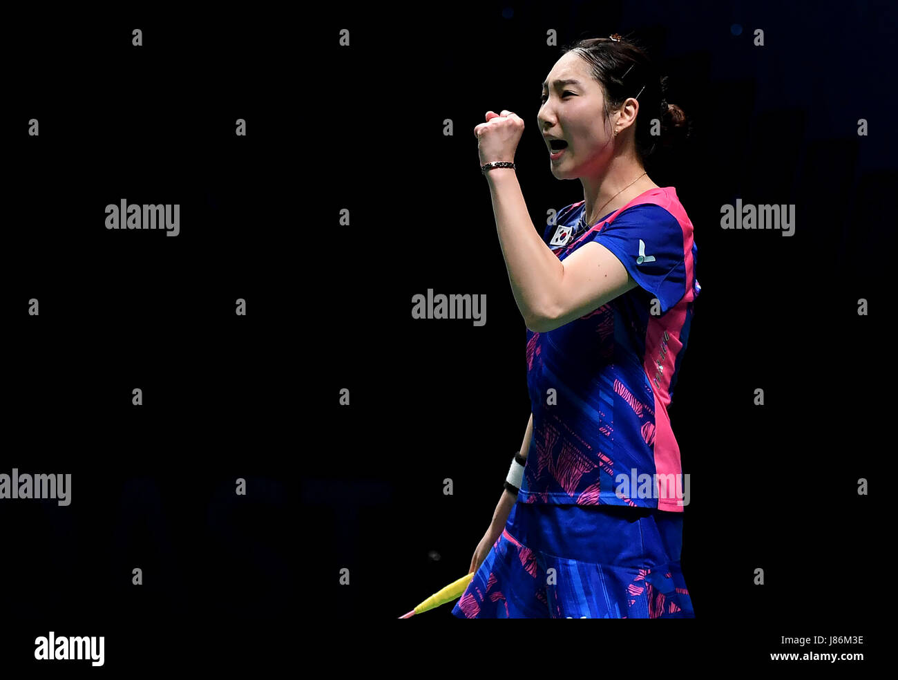 Gold Coast Australia 28th May 2017 South Korea s Sung Ji Hyun