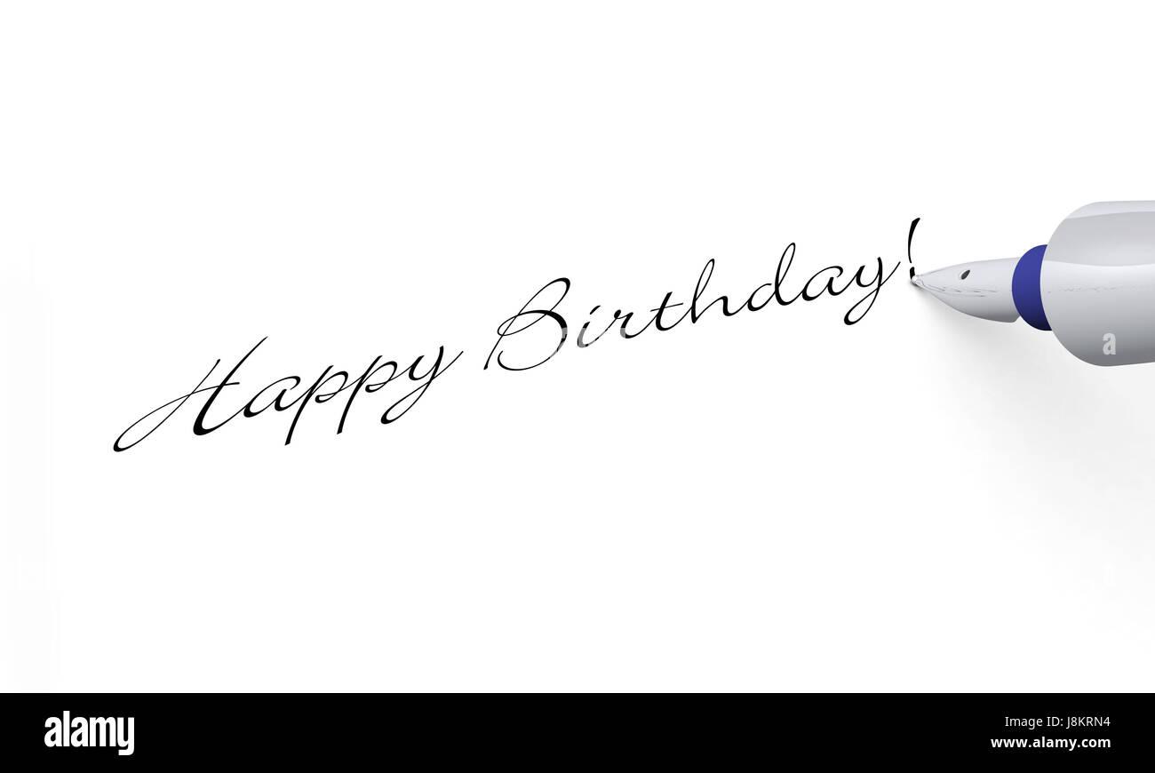 Congratulation text fountain pen birthday card pictogram congratulation text fountain pen birthday card pictogram symbol biocorpaavc Choice Image