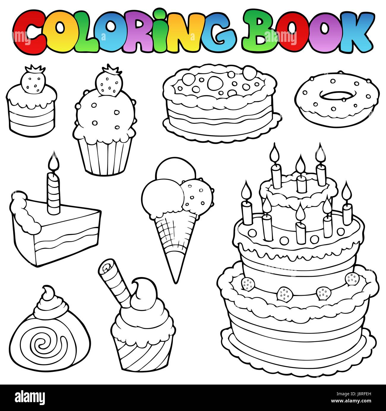 Colour Cake Pie Cakes Paint Painted Piece Section