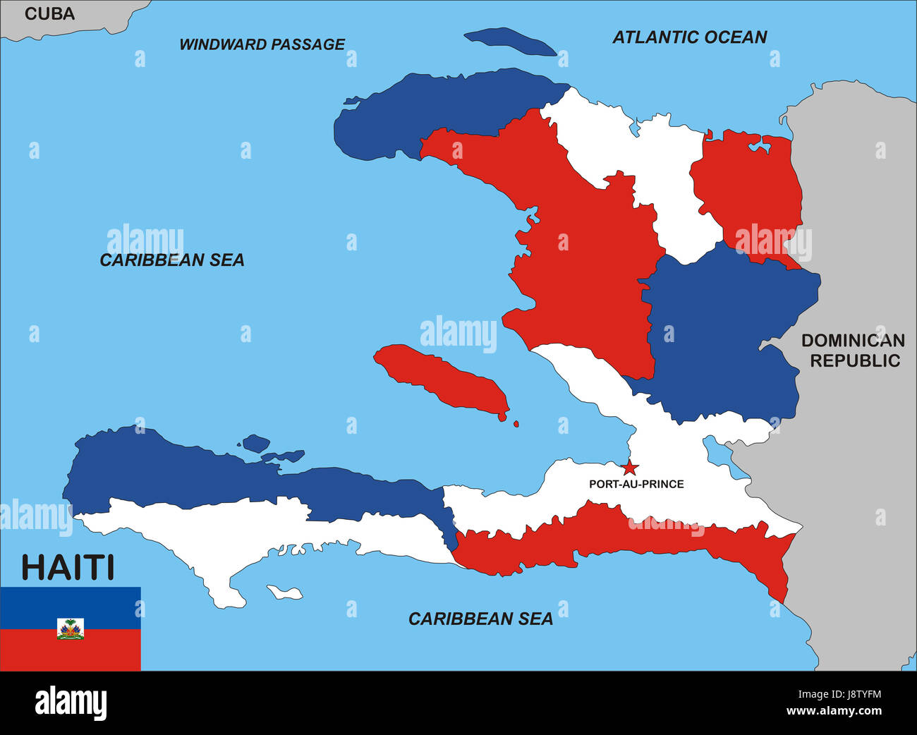 Haiti map atlas map of the world political flag country haiti map atlas map of the world political flag country globe planet gumiabroncs Choice Image