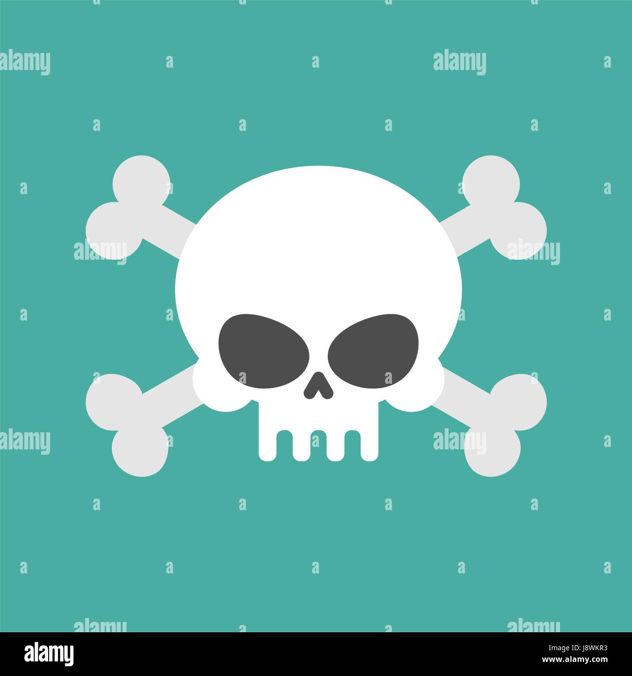 Skull and crossbones isolated pirate danger sign skeleton head skull and crossbones isolated pirate danger sign skeleton head symbol of death buycottarizona Images
