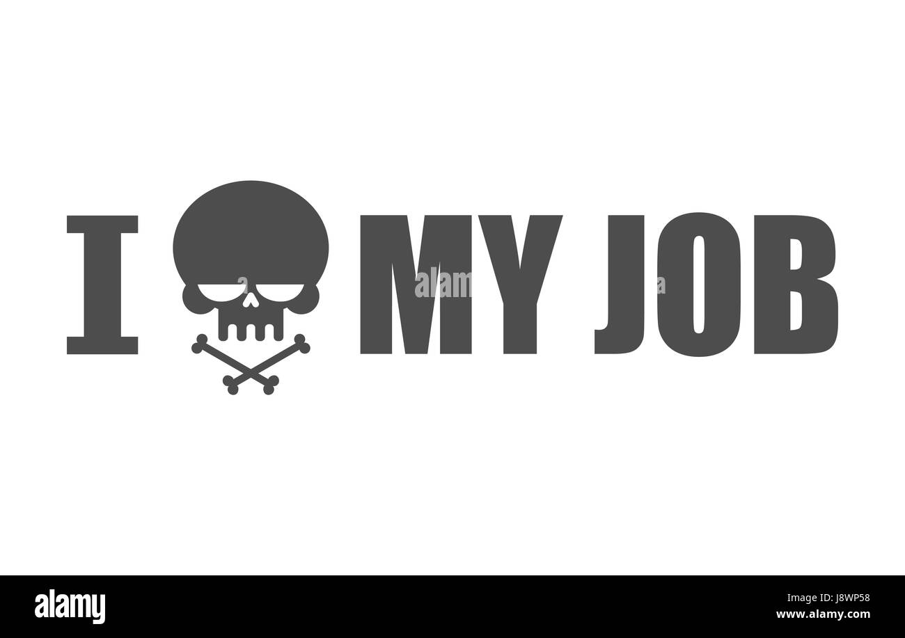 I hate my job skull and bones symbol of hatred and antipathy stock skull and bones symbol of hatred and antipathy skeleton head buycottarizona Images