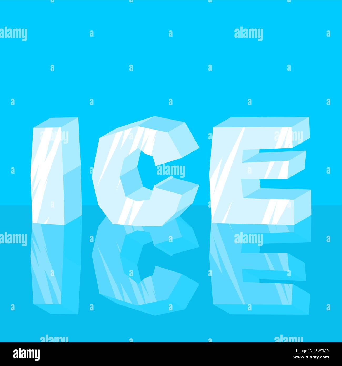 Ice text cool lettering letters typography frozen letters stock ice text cool lettering letters typography frozen letters biocorpaavc Images