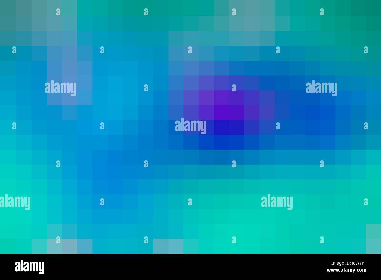 Turquoise blue purple abstract vector square tiles mosaic background ...