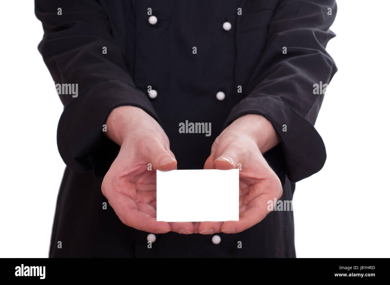 hand, hands, hold, cook, visiting card, man, optional, european ...