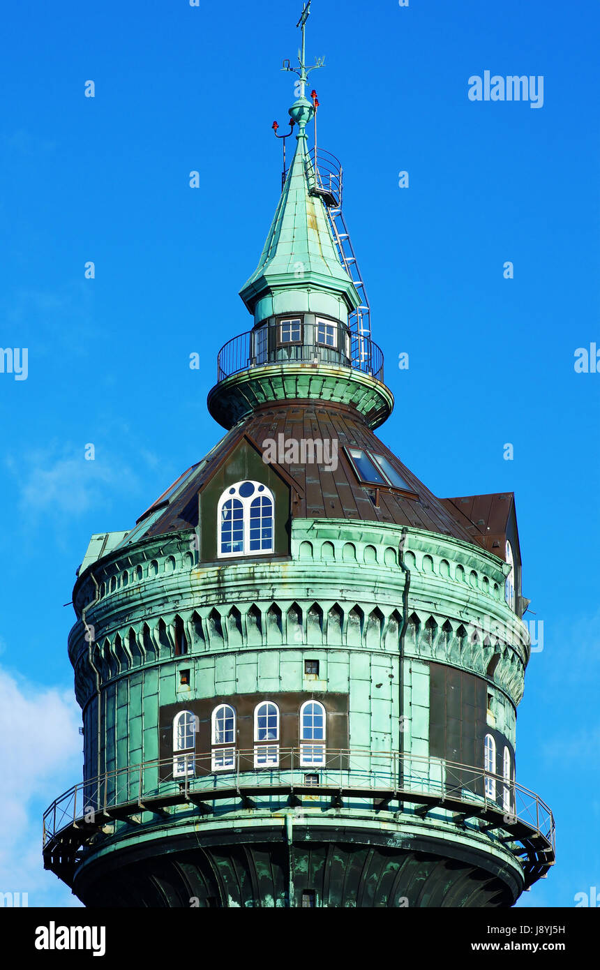 Water Tower Home Tower Industry Hamburg Water Tower Water Supply Home Flat