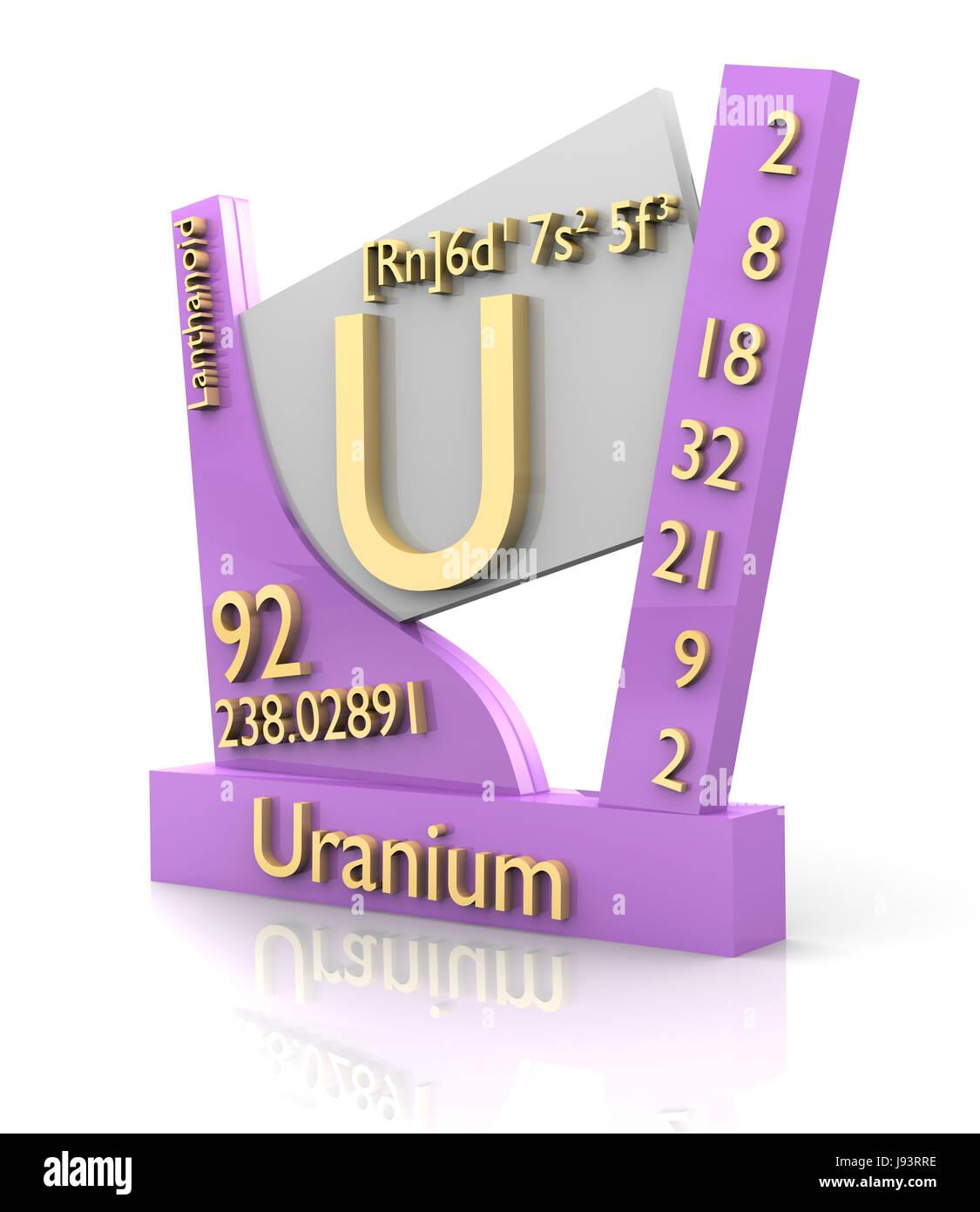 Element uranium periodical periodic table study board science element uranium periodical periodic table study board science energy urtaz Image collections