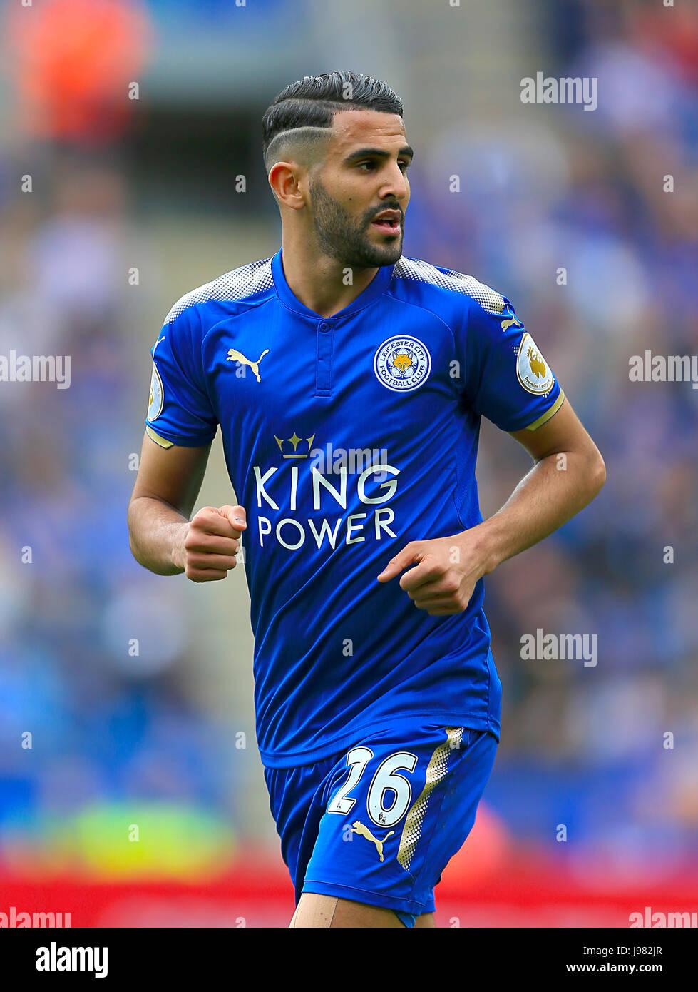 Riyad Mahrez Leicester City Stock Royalty Free Image
