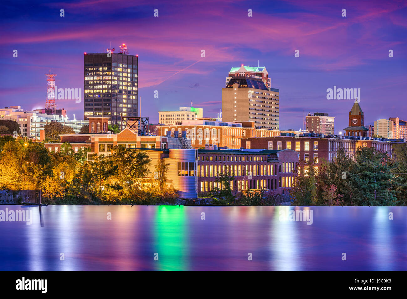 Manchester Nh Skyline Pictures To Pin On Pinterest Pinsdaddy