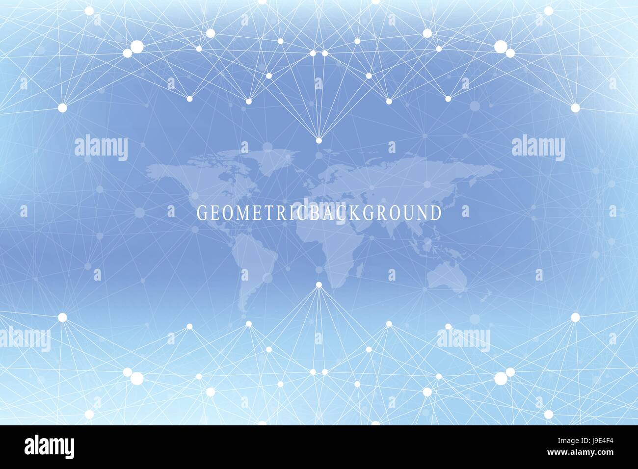 Graphic abstract background communication with world map big data graphic abstract background communication with world map big data visualization perspective backdrop with connected gumiabroncs Choice Image