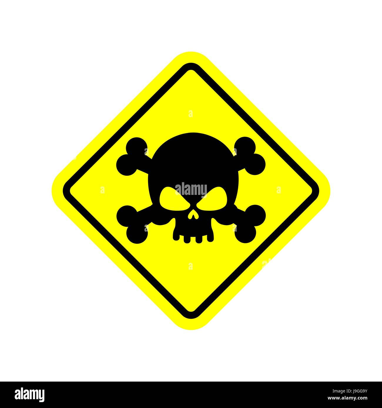 Danger poison sign yellow attention toxic hazard warning sign attention toxic hazard warning sign acid pollution biocorpaavc Images